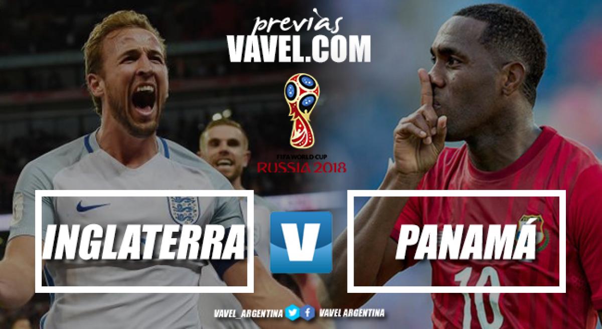 Previa Inglaterra - Panamá: a todo o nada