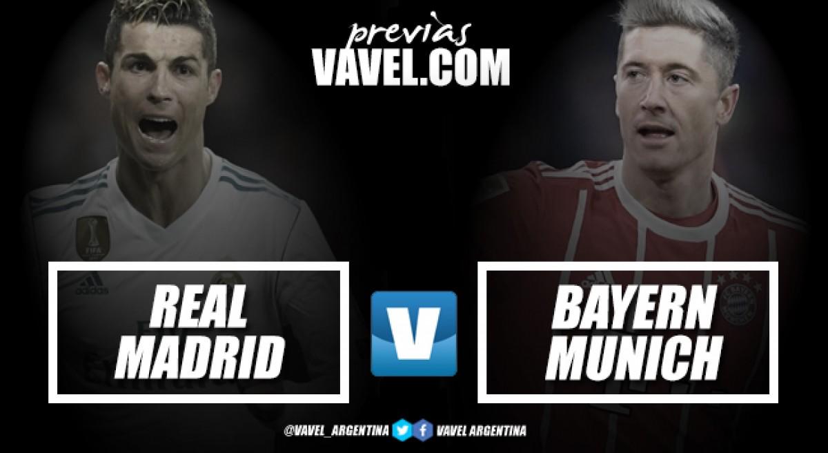Previa Real Madrid - Bayern Munich: por el boleto a Kiev