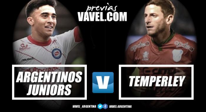 Previa Argentinos Juniors - Temperley: Para romper el maleficio