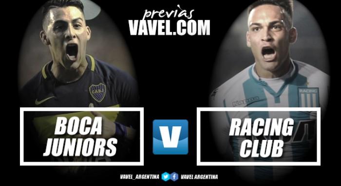 Previa Boca Juniors - Racing Club: van por la novena