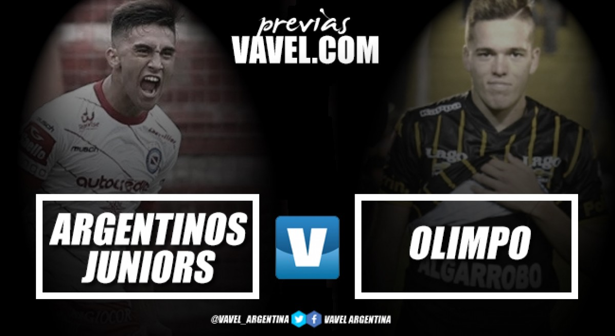 Previa Argentinos Juniors - Olimpo: para cumplir otro objetivo