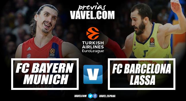 Previa FC Bayern Basketball -FC Barcelona Lassa: soñar con la cuarta plaza vs soñar con el pase a cuartos