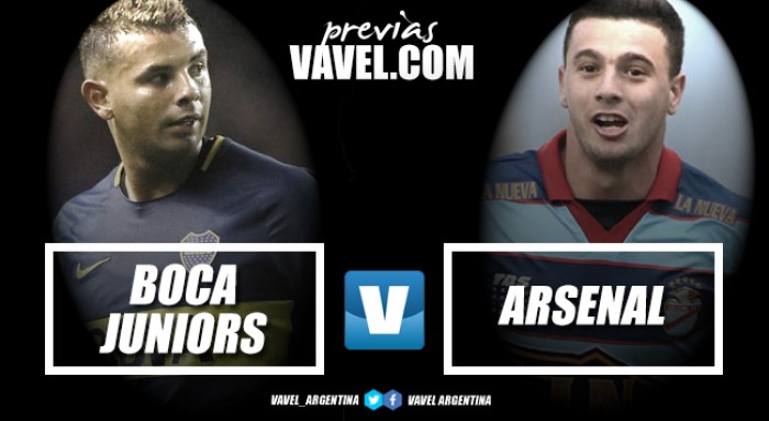 Previa Boca Juniors - Arsenal: No quiere compartir la cima