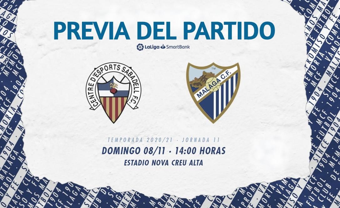 Dia de partido. / Foto; Málaga CF