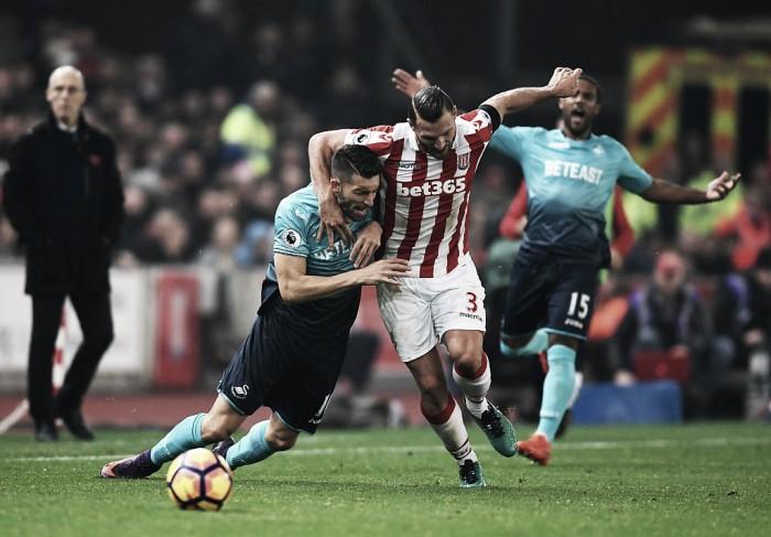 Previa Stoke City - Swansea City: Hughes, tenemos un problema
