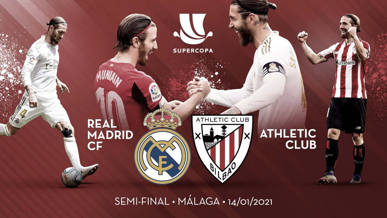 Previa Real Madrid vs Athletic Club: primer título en juego