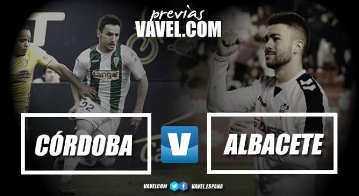 Previa Córdoba CF - Albacete Balompié: que empiece el milagro
