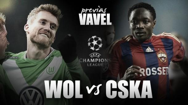 CSKA de Moscú - Wolfsburgo: lucha ardiente en la fría Rusia