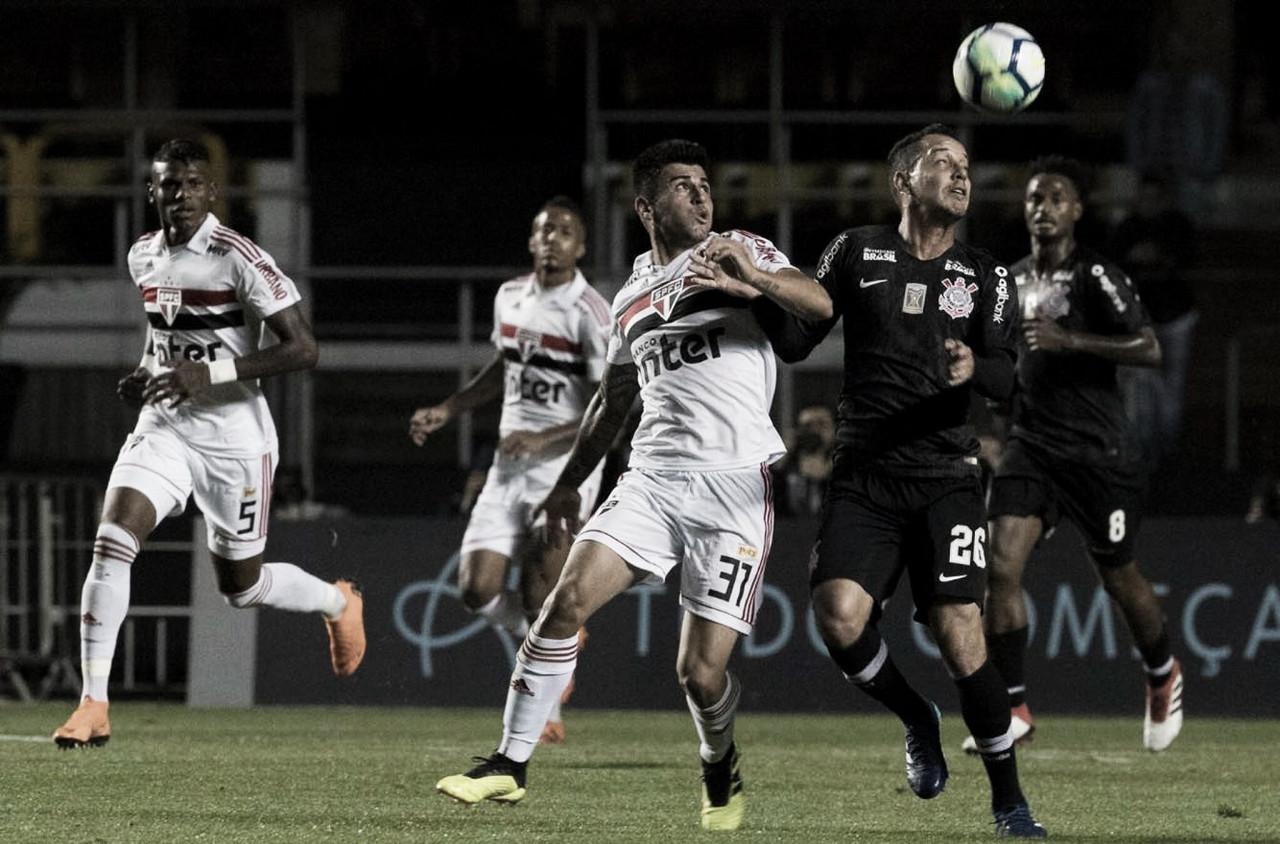 Em jogo marcado por extremos, Corinthians recebe o São Paulo em Itaquera