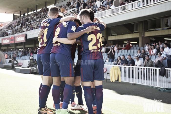Anuario VAVEL FC Barcelona B 2017: La delantera del B, en período de adaptación