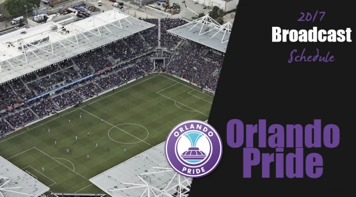 Orlando Pride will host five of their featured seven Game of the Week broadcasts