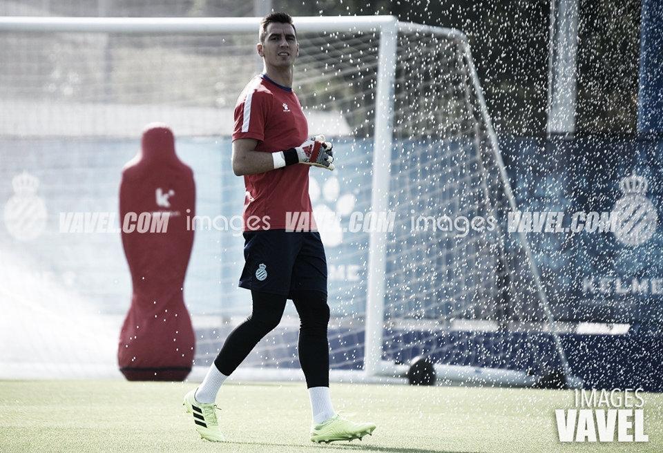 Andrés Prieto: ''Estoy contento por participar''