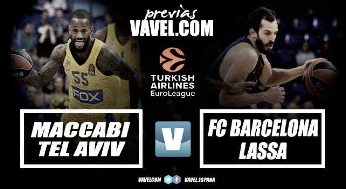 Previa Maccabi FOX - Barça Lassa: oportunidad para darle la vuelta