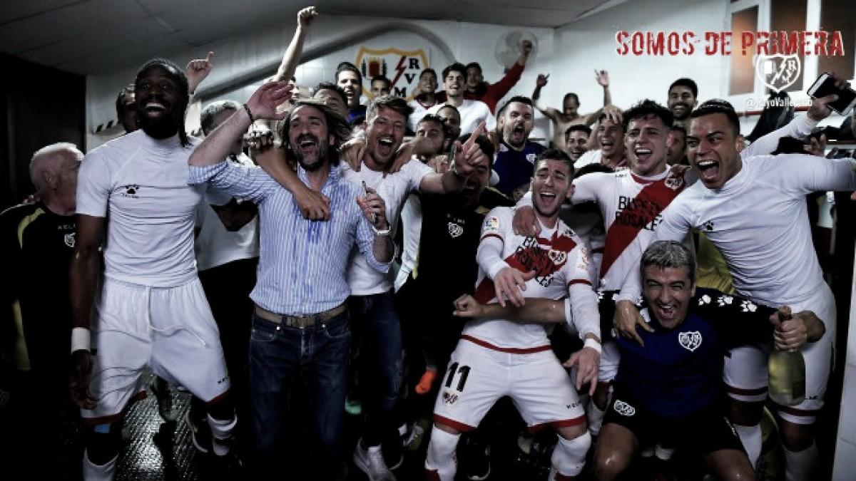 El Rayo Vallecano es uno de los equipos españoles con más ascensos