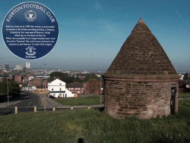 Prince Rupert's Tower, el emblema identificativo del Everton