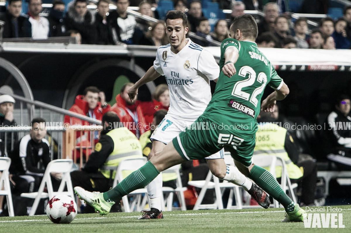 Resumen Real Madrid 3-0 Leganés, Copa del Rey