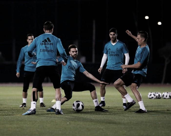 El Real Madrid ya prepara la final del sábado