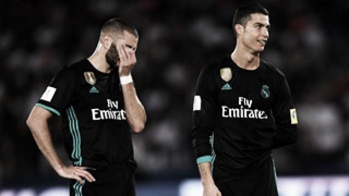 El Real Madrid se encuentra con los palos