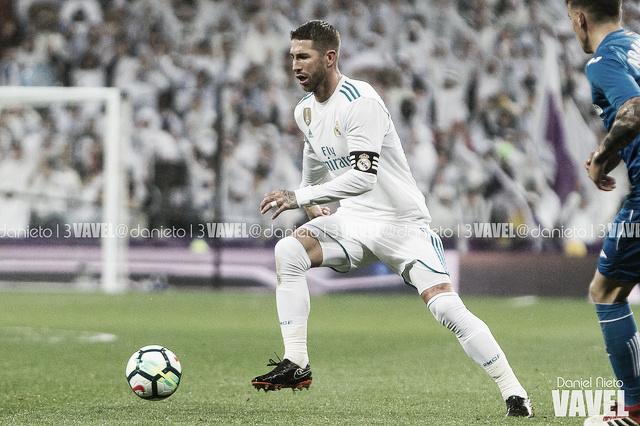Sergio Ramos, apercibido en Champions League