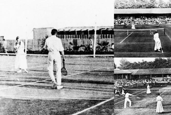 Principios del tenis en los Juegos Olímpicos