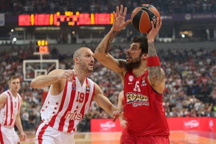 Eurolega - Clamoroso a Belgrado, l'Olympiacos supera la Stella Rossa: decide Printezis allo scadere