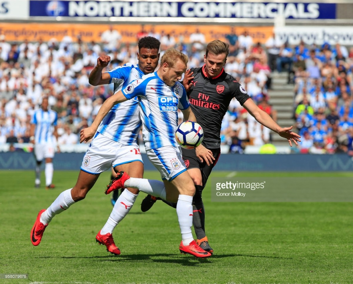 Huddersfield Town Player Ratings: Pritchard standout in Arsenal defeat