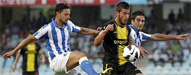 El Real Zaragoza se cortocircuita en Anoeta