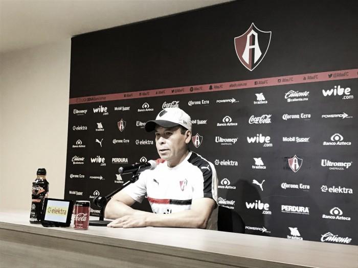 """José Guadalupe Cruz: """"La exigencia será la misma en Liga y Copa"""""""