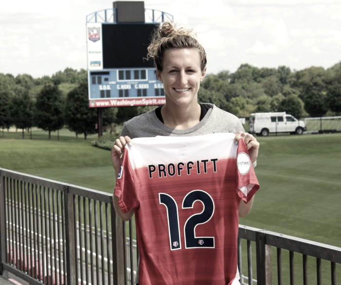 Morgan Proffitt joins Washington Spirit