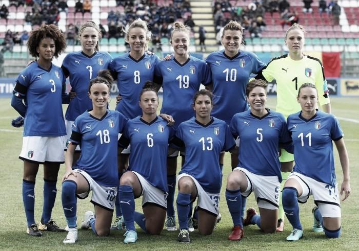 Em preparação para Eliminatórias 2019, Seleção principal e sub-23 italianas treinam juntas