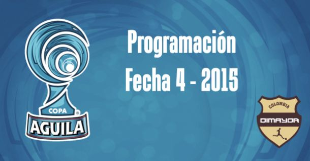 Programación de la cuarta fecha de la Copa Águila 2015