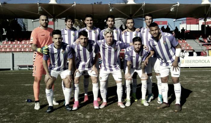 Resultados de las categorías inferiores del Real Valladolid