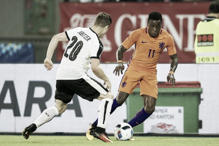 Mauricio Pochettino closely watching Dutch forward Quincy Promes