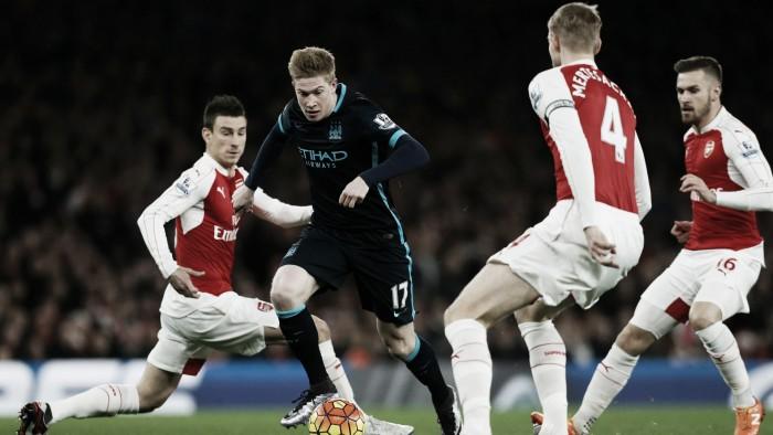 Manchester City - Arsenal in Premier League 2016/17 (2-1): Sterling completa la rimonta!
