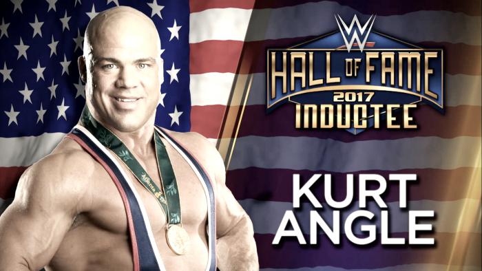 Kurt Angle es el primer inducido al Salón de la Fama de WWE en 2017