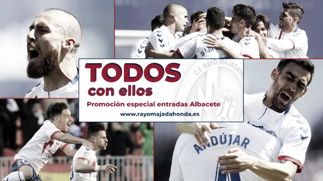 Promoción de entradas para llenar el Cerro del Espino el domingo frente al Albacete C.F.