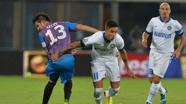 Diretta Inter - Catania in Serie A