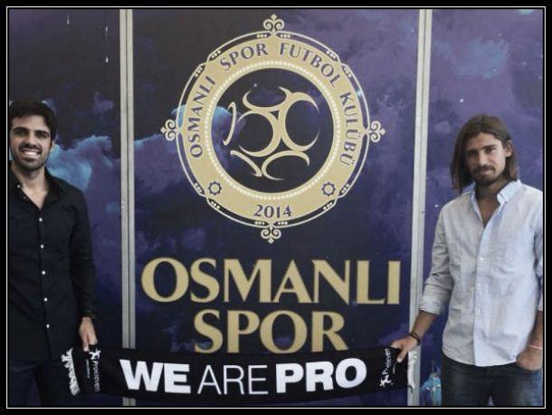 Tiago Pinto junta-se a Artur Moraes no Osmanlispor FK