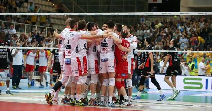 Volley M, Playoff Superlega UnipolSai A1: in gara 5 Trento e Perugia vincono su Molfetta e Verona