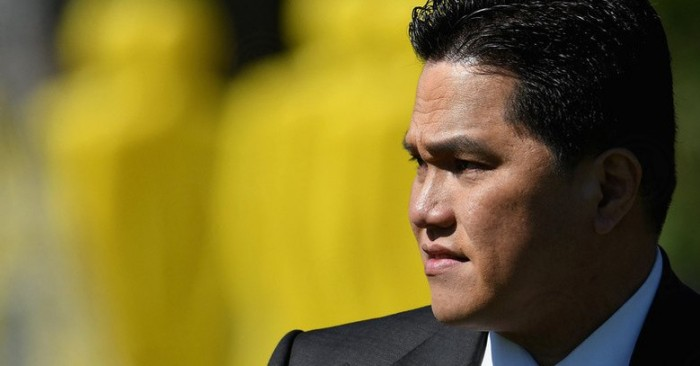 Inter, Thohir indica la via