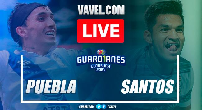 Goal and Highlights: Puebla 1-0 Santos in Liga MX 2021