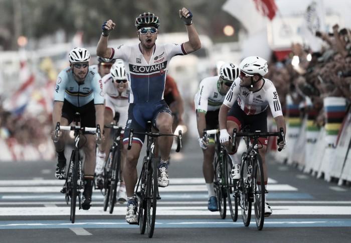 Doha 2016, Peter Sagan si riconferma campione del mondo. Sul podio Cavendish e Boonen