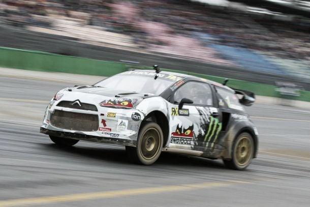 Petter Solberg domina etapa de Hockenheim do Mundial de Rallycross