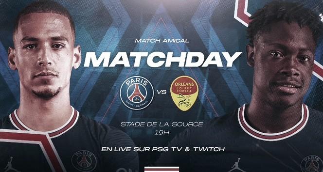 PSG vs Orleans Full Match & Highlights 24 July 2021