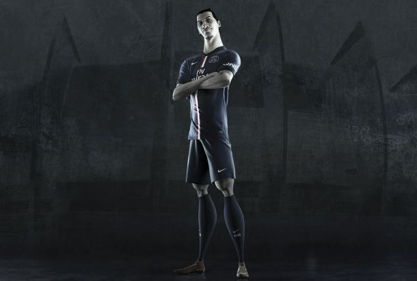 Ibrahimovic vira desenho animado no lançamento da nova camisa do Paris Saint Germain