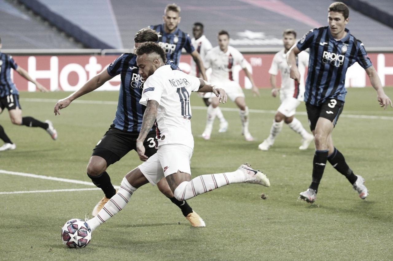 Na pressão e com Neymar decisivo, PSG vira contra Atalanta e segue vivo na Champions League