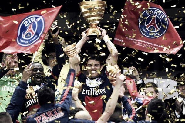 Paris Saint-Germain vence Lyon e é campeão da Coupe de la Ligue