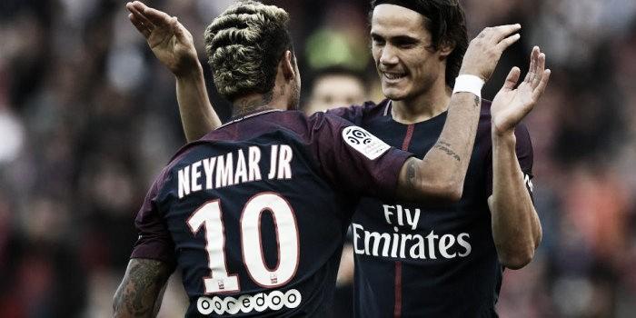 El PSG goleó al Bordeaux