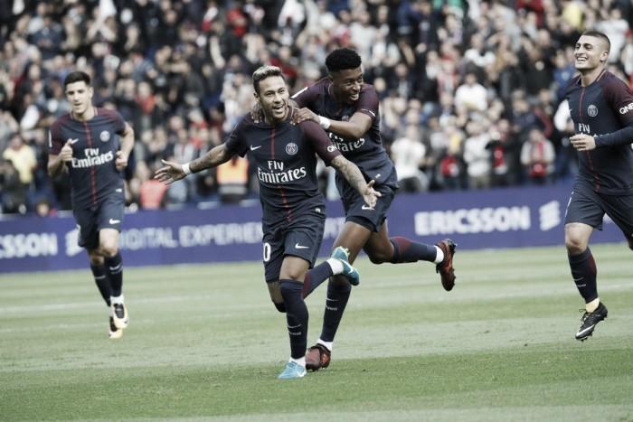 El once ideal de la jornada número 8 de la Ligue 1 2017
