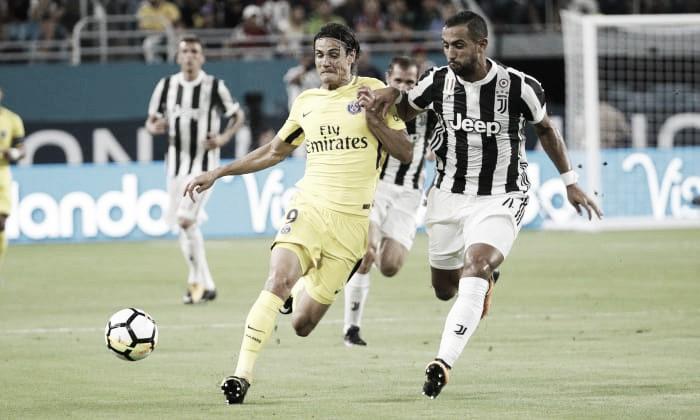 Em segundo tempo movimentado, Juventus vence PSG com dois gols de Marchisio